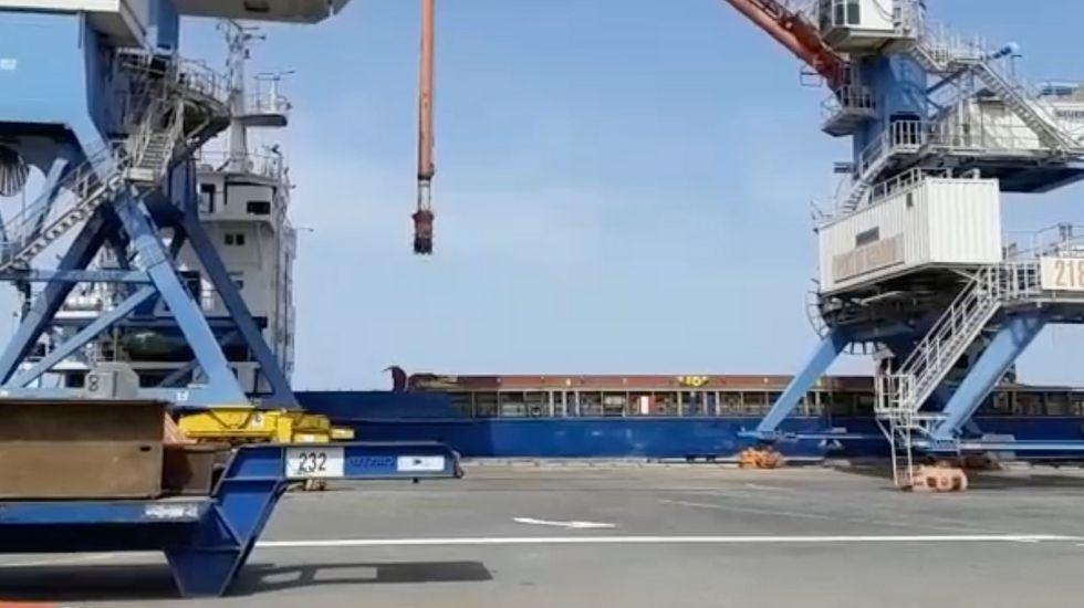רציף 24 בנמל אשדוד. צילום: ירון קליין