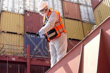 נמל חיפה – נלחמים בקורונה – ממשיכים לעבוד