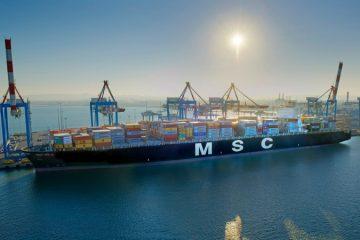 חברת MSC משדרגת את קו השירות INDUS לטובת השוק הישראלי