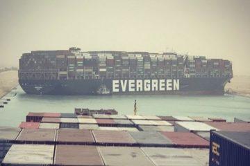 דיווח: הושלם מעבר כל האניות שנתקעו מחוץ לתעלת סואץ