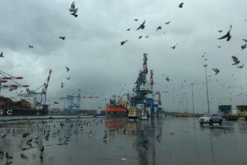 מזג האוויר הסוער: נמלי אשדוד וחיפה נערכים לסערה