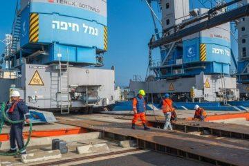 נמל חיפה: החל מבצע רילוקיישן לעגורנים